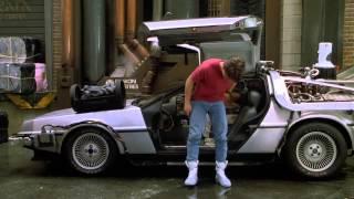 Escena Volver Al Futuro II (Ropa Futurísta) (Audio Latino) (Full HD) (1989)