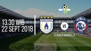 Jadwal Siaran Langsung Streaming Vidio.com, Persipura Vs Arema FC Liga 1 2018 Pukul 13.30 WIB