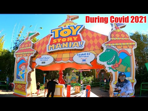 Toy Story Mania! Ride During Covid 2021 |
