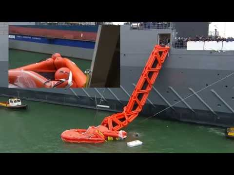 Testing Raft & Slide  Zr.Ms. Karel Doorman