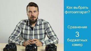видео Canon 600d или Nikon d3200? Какой лучше выбрать