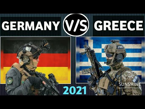 Germany vs Greece military power comparison 2021
