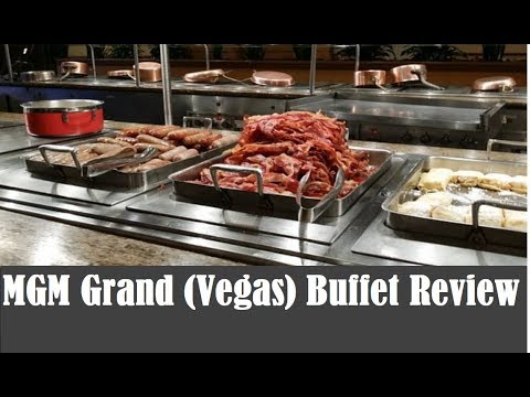 MGM Grand Vegas Dinner (and Brunch) Buffet Review 2018: quantity vs quality? from top-buffet.com