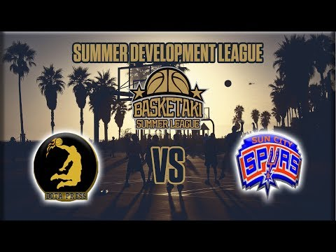 Basketaki The League - Ντο τα Press Vs Sun City Spurs (26/05