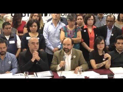 Álvarez Icaza explica por qué decidió no postularse como independiente