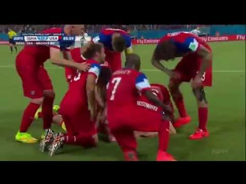 John Brooks Goal vs Ghana, June 16th, 2014