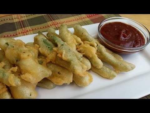 Fried Green Beans-Scrumptious