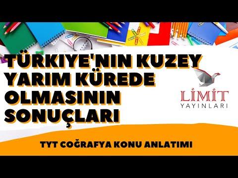 9-Türkiye'nin Matematik Konumunun Sonuçları-1 / Türkiye'nin Kuzey Yarım Kürede Olmasının Sonuçları