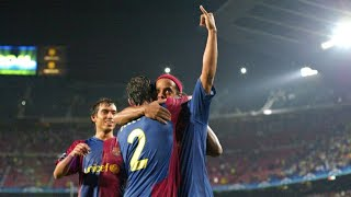 The Story Behind Ronaldinho's Barcelona Home Debut Taking Place At Midnight