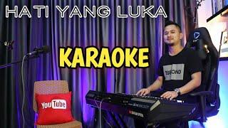 HATI YANG LUKA (Karaoke/Lirik) || Dangdut - Versi Uda Fajar
