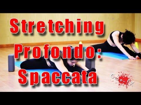 How to do the splits - come fare la spaccata