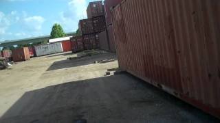 Storage Container - Garage Building