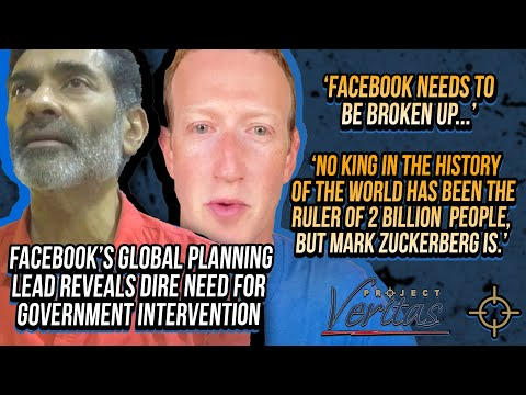 KING ZUCK: Facebook Global Planning Lead Reveals Dire Need For Government Intervention In Facebook
