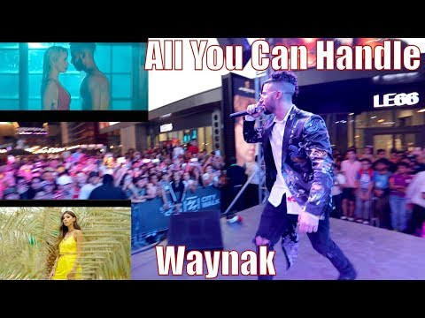 WE PERFORMED 'All You Can Handle' AND 'Waynak' LIVE!!