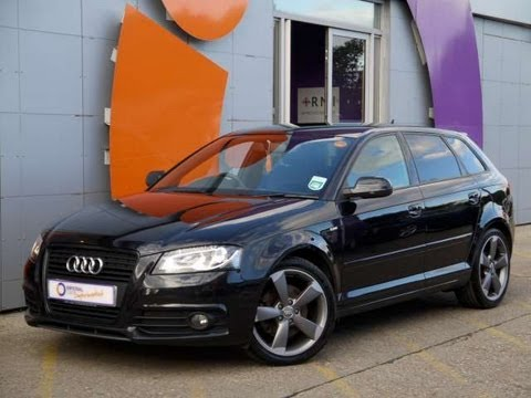 2011 audi a3 sportback s line 2l for sale in hampshire youtube. Black Bedroom Furniture Sets. Home Design Ideas