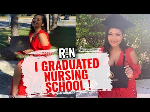I GRADUATED NURSING SCHOOL ! | VLOG
