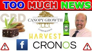 Harvest Health Could Nearly Double ? Canopy Growth Buys Skin Care Company -CGC stock news 2019