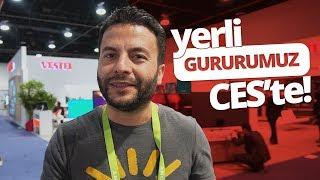 YERLİ GURURUMUZ VESTEL, CES 2018'TE! 🇹🇷