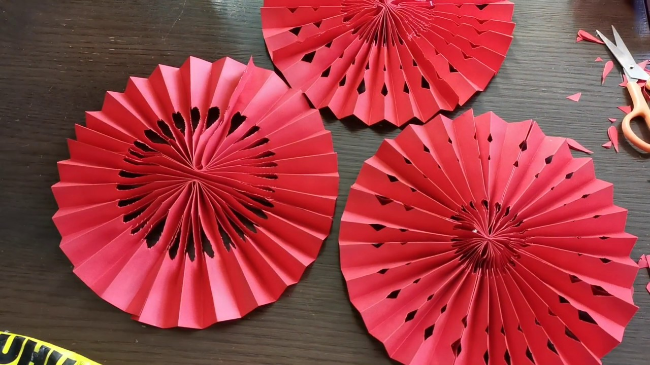 Origami Fan Lantern - DIY Chinese New Year Decoration ...