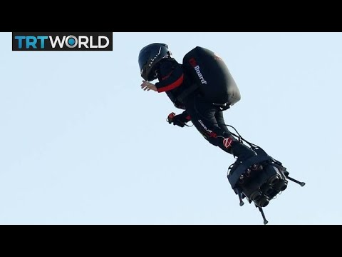 JC Floyd - From France to England  on a Flyboard
