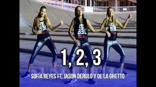 1, 2, 3 - Sofía Reyes ft. Jason Derulo, De La Ghetto | KF Dance | Coreografía Zumba®