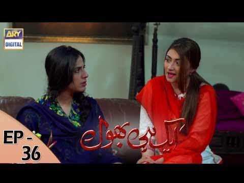 Ek hi bhool Ep 36 - 19th July 2017 - ARY Digital Drama