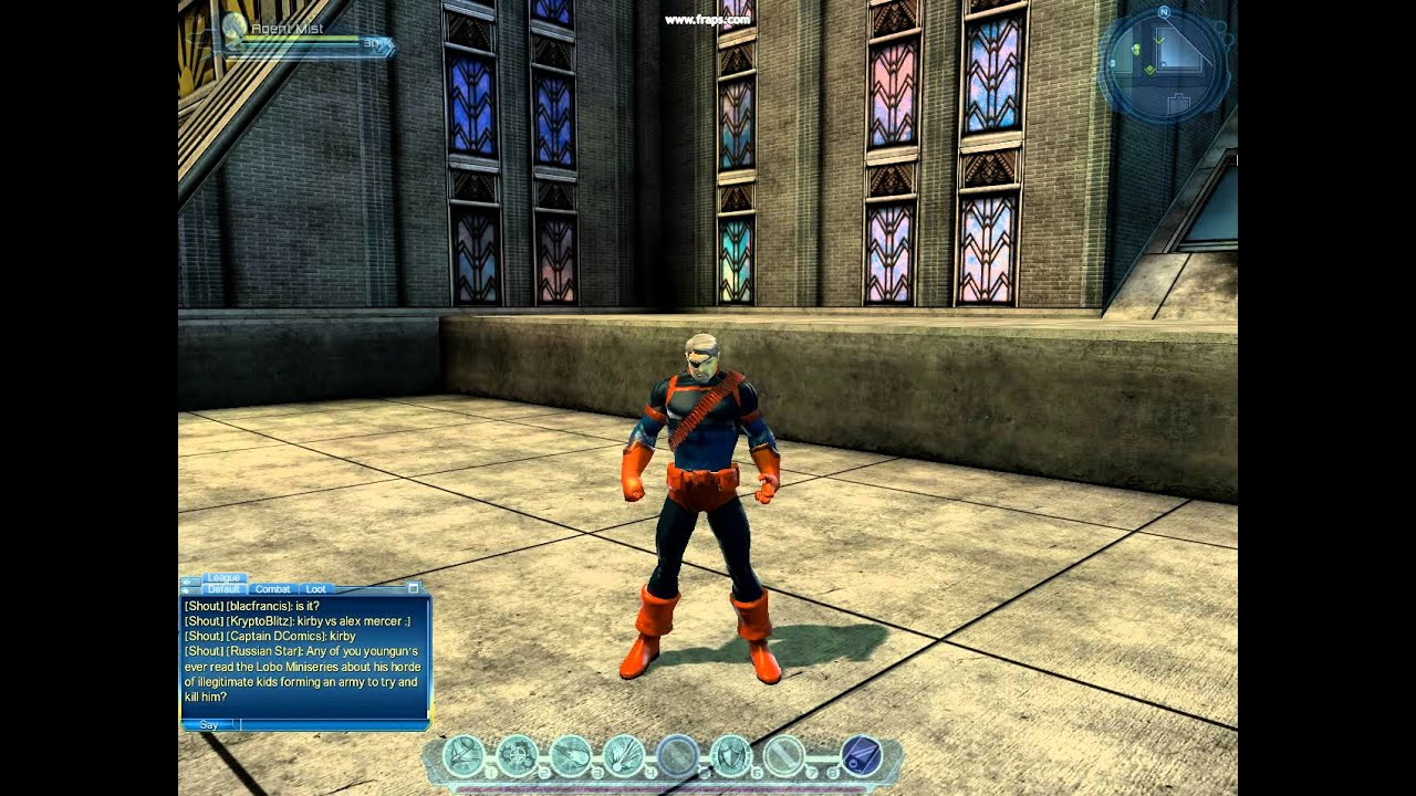 Making The Dcuo Characters Deathstroke Without Mask Youtube