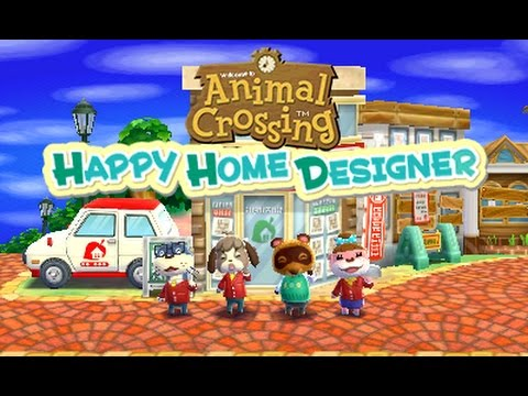Animal Crossing Happy Home Designer Part 5 Live An Isabelle Makes A House A Home Youtube
