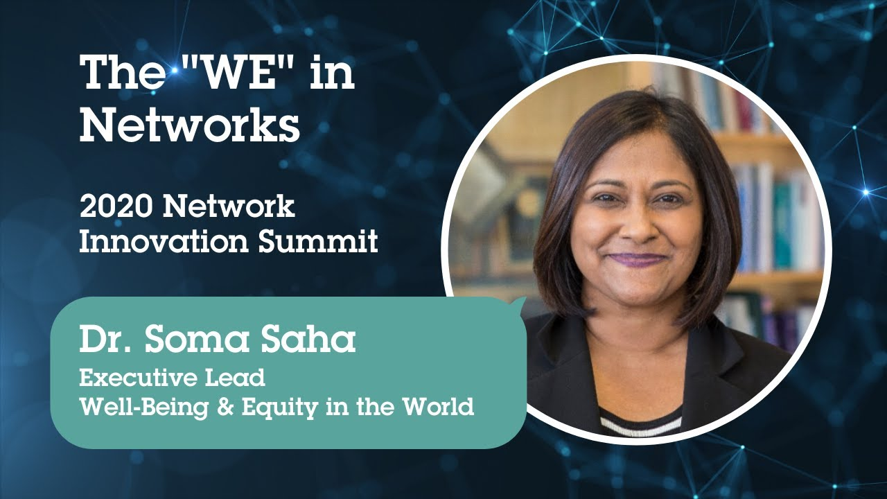 "Visible Network Labs Network Innovation Summit: The ""WE"" in Networks"