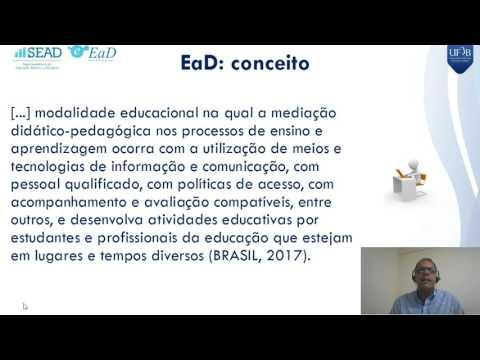 Videoaula 1 - Curso Formação Básica para Professores e Tutor