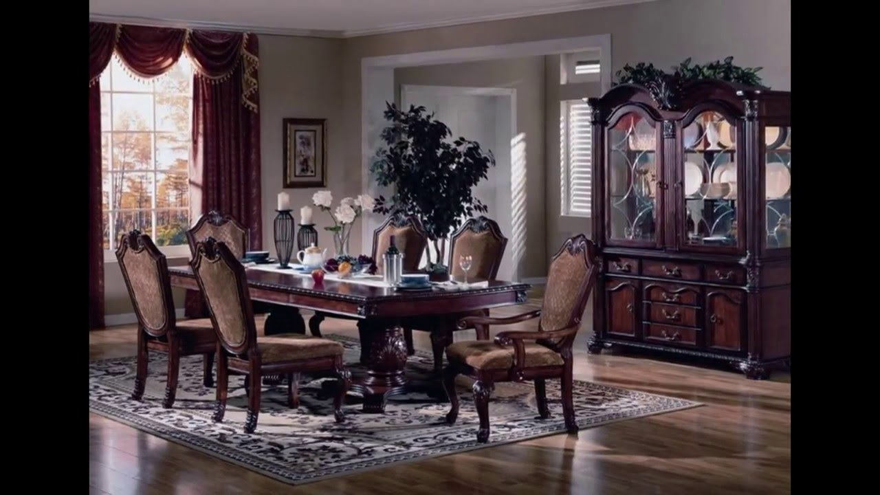 Formal dining room sets formal dining room furniture for Formal dining room furniture sets