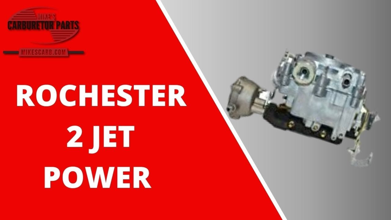 Rochester 2 Jet Barrel Power Circuit Youtube 86 Chevy Pickup Choke Wiring Diagram
