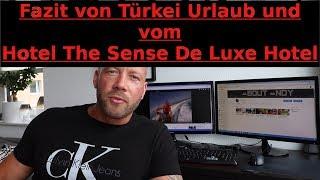 """Fazit vom """"The Sense De Luxe Hotel"""", Rückflug und Ende vom Urlaub"""