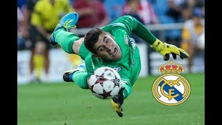 Thibaut Courtois 2018 - Welcome to Real Madrid? - Amazing Saves Show ● HD