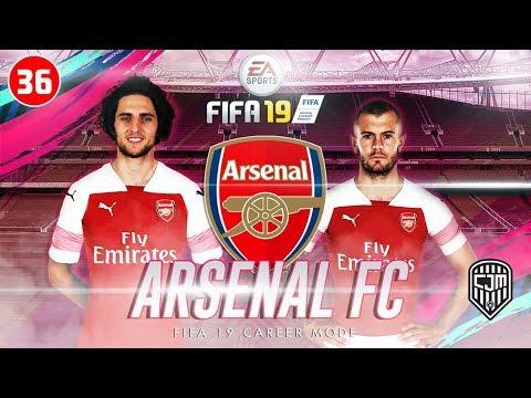 FIFA 19 Arsenal Career Mode: Pertandingan Pertama Liga Inggris 2019/20 Lawan Chelsea Away #36