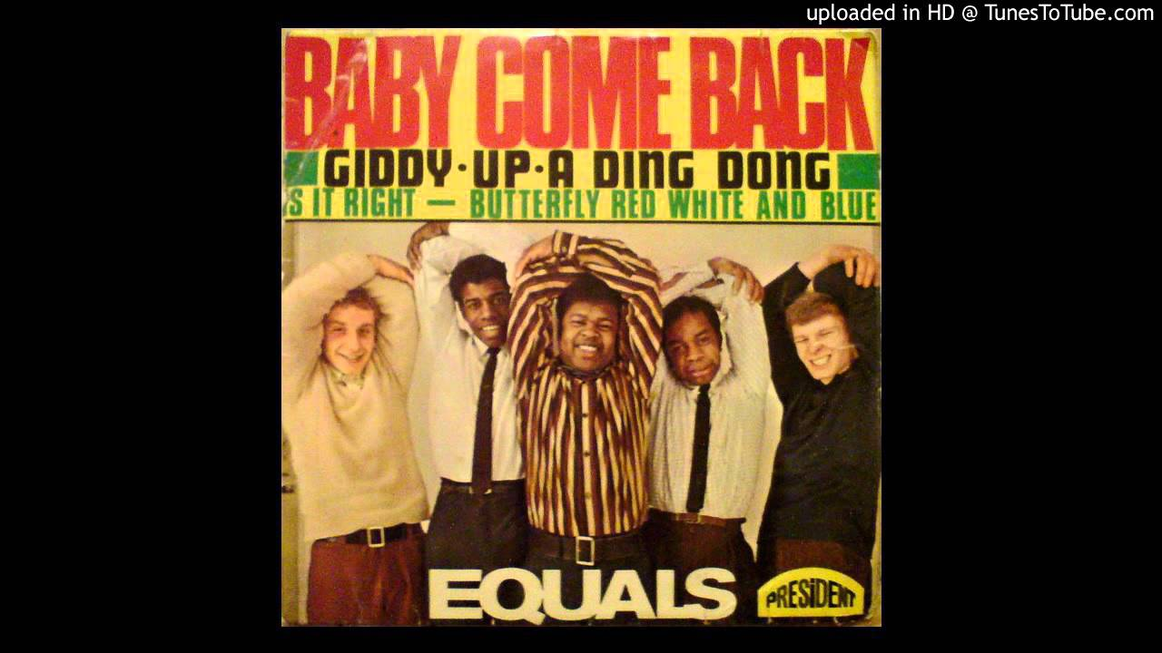 Tunes To Tube >> The Equals - Baby Come Back - 1968 - YouTube