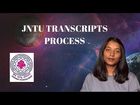 JNTU transcripts online | Original Degree Attestation