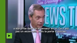 Nigel Farage chez RT : témoignage sur «l