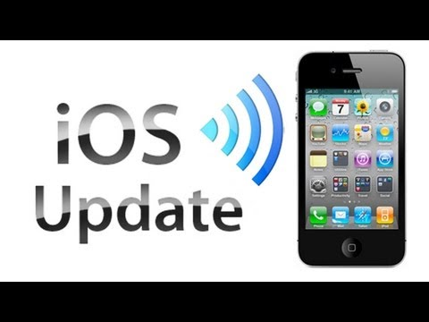 Updating Your IPhone Without A Computer (Over The Air Update)