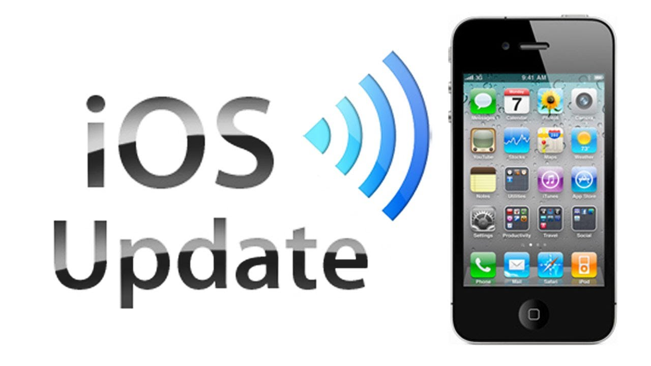 Updating unlocked iphone software