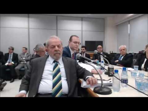 Íntegra do depoimento do ex-presidente Luiz Inácio Lula da Silva ao juiz Sérgio Moro - parte 1
