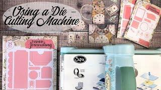 How to use a Die Cutting Machine   Journal Ephemera