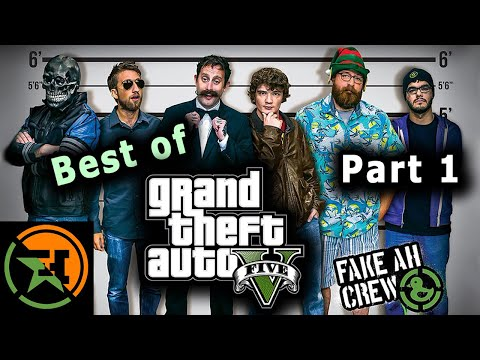 The Very Best of GTA V | Part 1 | AH | Achievement Hunter