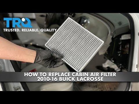 How To Replace Cabin Air Filter 2010-16 Buick Lacrosse