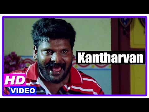 Kantharvan Tamil Movie | Scenes | Ganja Karuppu Comedy With His Father In Law | Kathir | Honey Rose