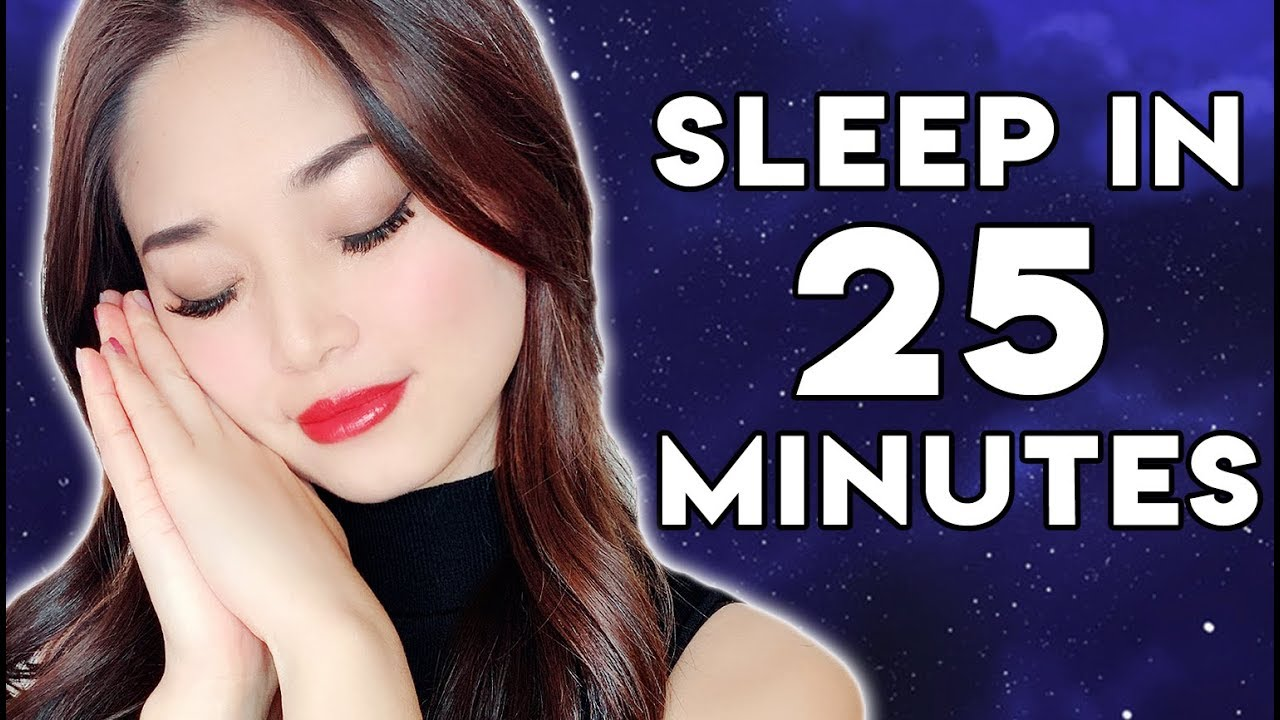 Asmr Sleep In 25 Minutes Relaxing Sleep Treatment -3730