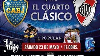 Boca vs River: el cuarto superclásico se juega en Cipolletti