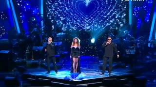 """Zlata Ognevich - Singing """"Vivo per Lei"""" (I Live for Her) as a trio 2011"""