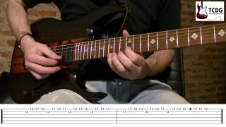 HOW TO PLAY ANASTASIA GUITAR LESSON - SLASH - ANASTASIA TAB TCDG