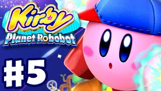 kirby planet robobot all cutscenes